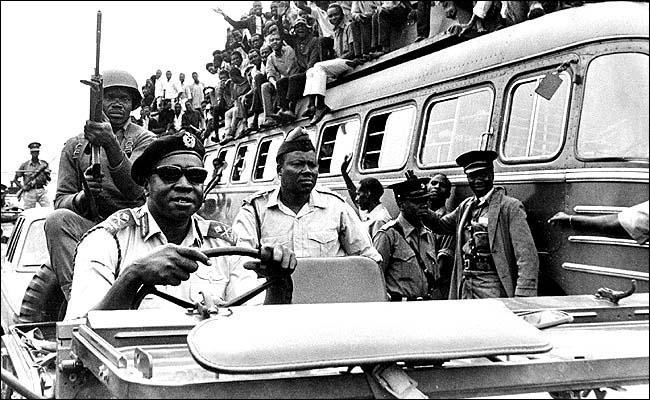 Idi Amin Dada, a sadistic dictator