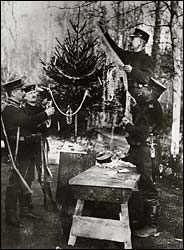 Christmas 1914.Books And Arts The Truce Of Christmas 1914
